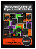 Halloween Fun Digital Papers and Printables