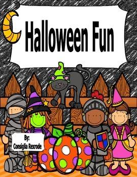Halloween Fun (Literacy and Numeracy Activities)