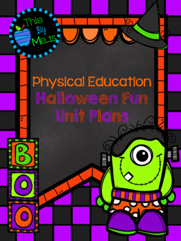 Halloween Fun Unit Plans
