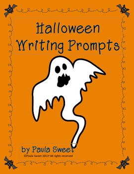 Halloween Fun Writing Prompts