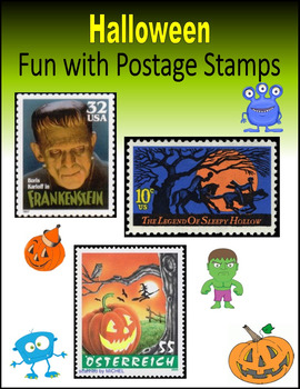 Halloween:  Fun with Postage Stamps