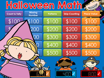Place Value Halloween