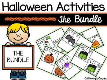 Halloween Activities GROWING Bundle