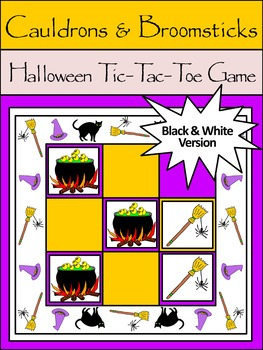 Halloween Game Activities: Cauldrons & Broomsticks Hallowe
