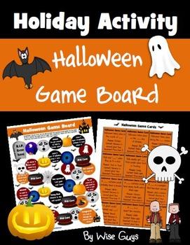 Halloween Game Board Activity