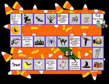 Halloween Game Board for Promethean Board