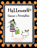 Halloween Games & Printables