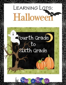 Halloween Games and Activities for Fourth, Fifth and Sixth grades