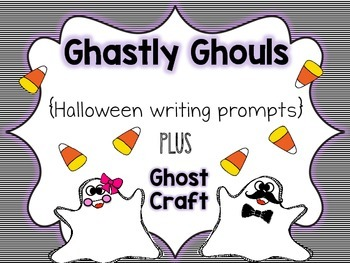 Halloween Ghost Craft & Writing Prompts