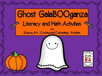 Halloween--Ghost GalaBOOganza-Literacy and Math Activities