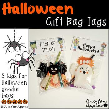 Halloween Gift Bag Tags {FREEBIE}