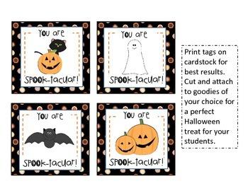 Halloween Gift Tags
