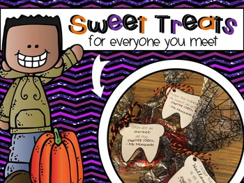Halloween Gift Tags {Sweet Tooth}