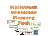 Halloween Grammar Memory Games