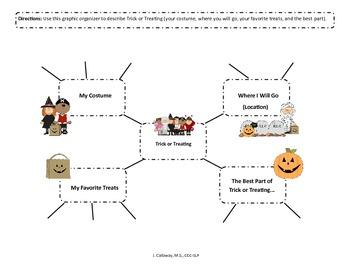 Halloween Graphic Organizers Galore!