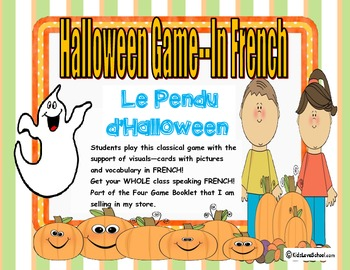 Halloween-Hangman (Pendu d'Halloween) in FRENCH!