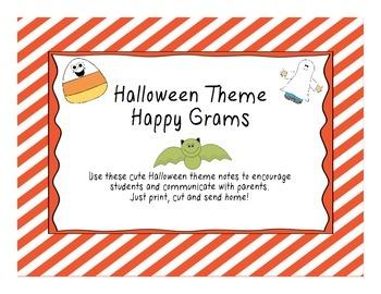 Halloween Happy Grams