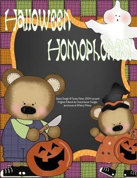 Halloween Homophones