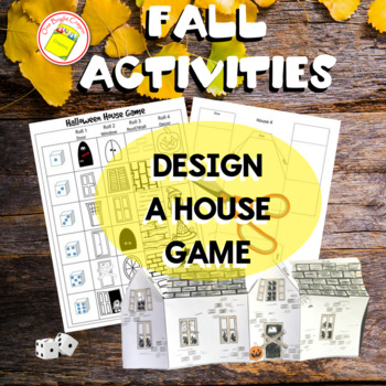 Halloween House Game - Classroom Decoration - Sub Work - F