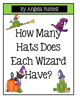 Halloween ~ How Many Hats Does Each Wizard Have?