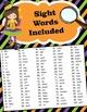 Halloween I Spy Sight Words Coloring Fun