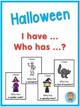 Halloween - I have ... Who has ...? game