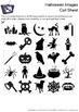 Halloween Images Bingo Cards - 25 Unique Pages