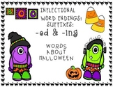 Halloween Inflectional Word Endings Unit