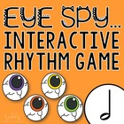 "Halloween Interactive Music Game- ""Eye Spy - Rhythm Game"" half note"