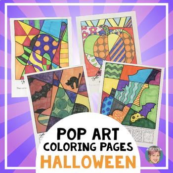 Halloween Activities: Interactive Coloring Sheets: Bats, s