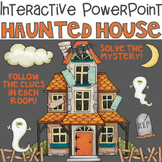 Halloween Interactive PowerPoint Haunted House