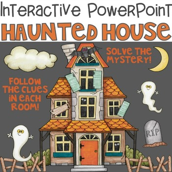 Halloween Interactive PowerPoint Haunted House