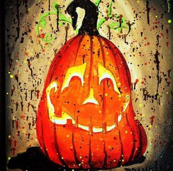 Halloween Jack-o-Lantern Coloring Page Bundle