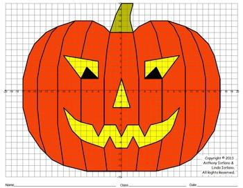 Halloween, Jack-o'-Lantern, Pumpkin, Scary, Coordinate Gra