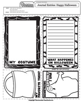Halloween: Journal Enteries
