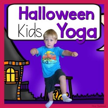 Halloween Kids Yoga Cards and Printables