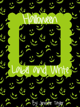 Halloween Label and Write