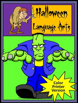Halloween Language Arts Activity Packet