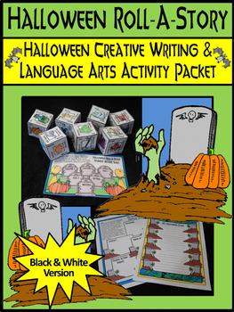Halloween Language Arts Activities: Halloween Roll-A-Story
