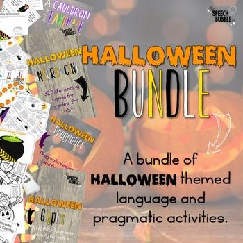Halloween Language Bundle