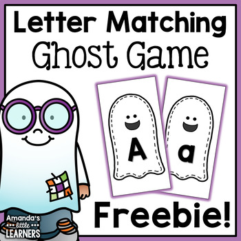 Halloween Letter Matching Cards