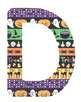 Halloween Letters (Alphabets)