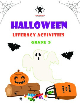 Halloween Literacy Activities - 3rd Grade