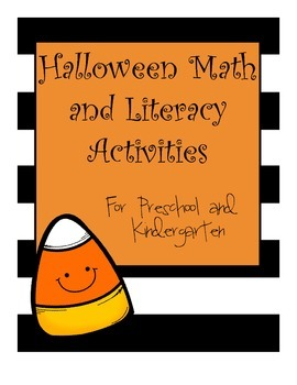 Halloween Literacy and Math Activities for Pre-K and Kindergarten