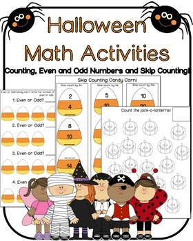 Halloween MATH Activities Halloween Bash 2014