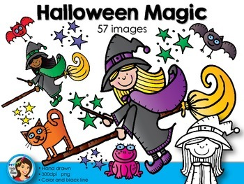 Halloween Magic Clip Art