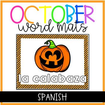 Halloween Magnetic Letter Center SPANISH