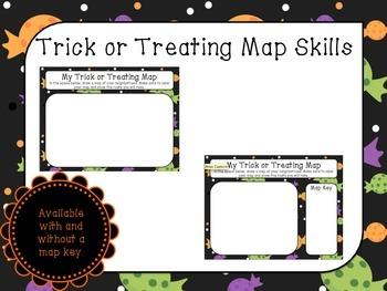 Halloween Map Skills