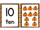Halloween Matching Number Cards Counting 1 to 10  Free!