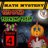 Halloween Math Activity: Math Mystery - Case of The Tricki